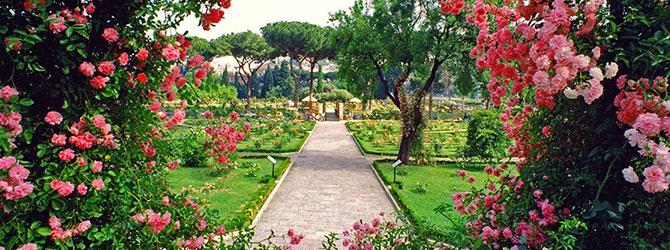 9 posti particolari da vedere a roma storiaviva viaggi for Rose da giardino