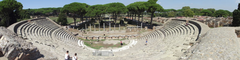 scavi ostia antica - il teatro