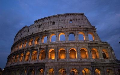 POSTI BELLI A ROMA DI SERA colosseo
