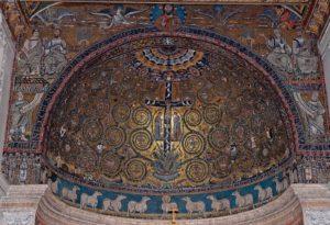 visita guidata san clemente, basilica superiore